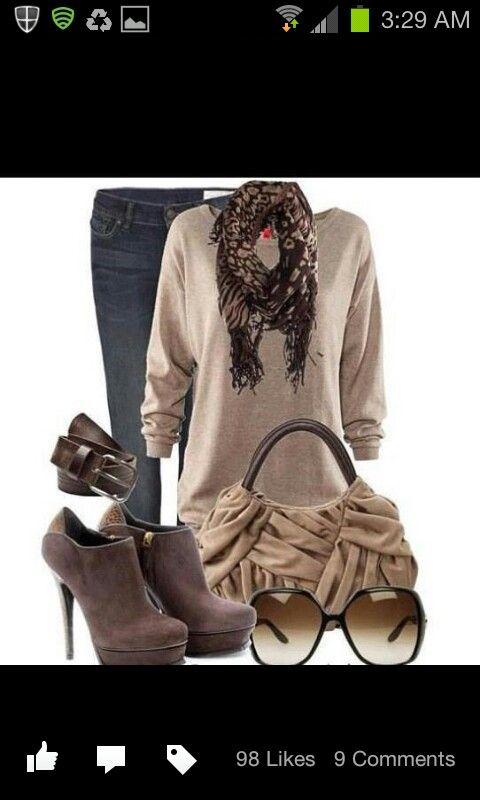 Otra de otoño.   #combinaciones #ropa #otoño