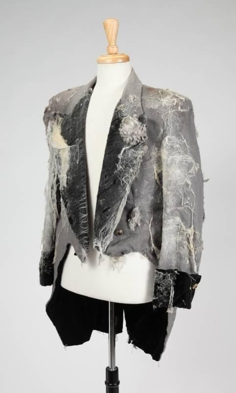 A group of costumes designed by Warden Neil worn in Michael Jacksonu0027s short film Ghosts (MJJ Productions The group comprises an auburn velvet & MICHAEL JACKSON: GHOSTS COSTUMES - Price Estimate: $3000 - $5000 ...