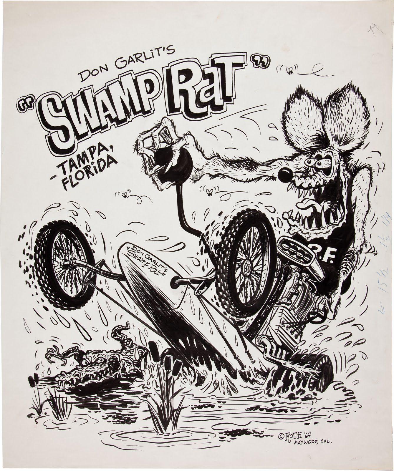 Ed Roth Art Rat Fink Ed Roth Art Rats