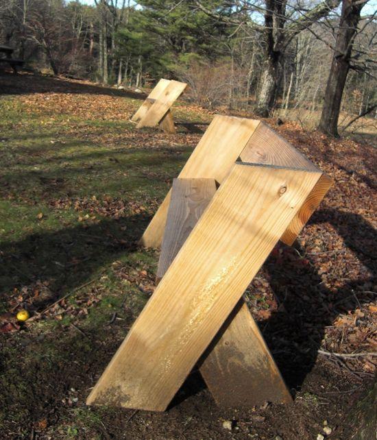 The Aldo Leopold Bench Simple Bench Plans Garden In 2019