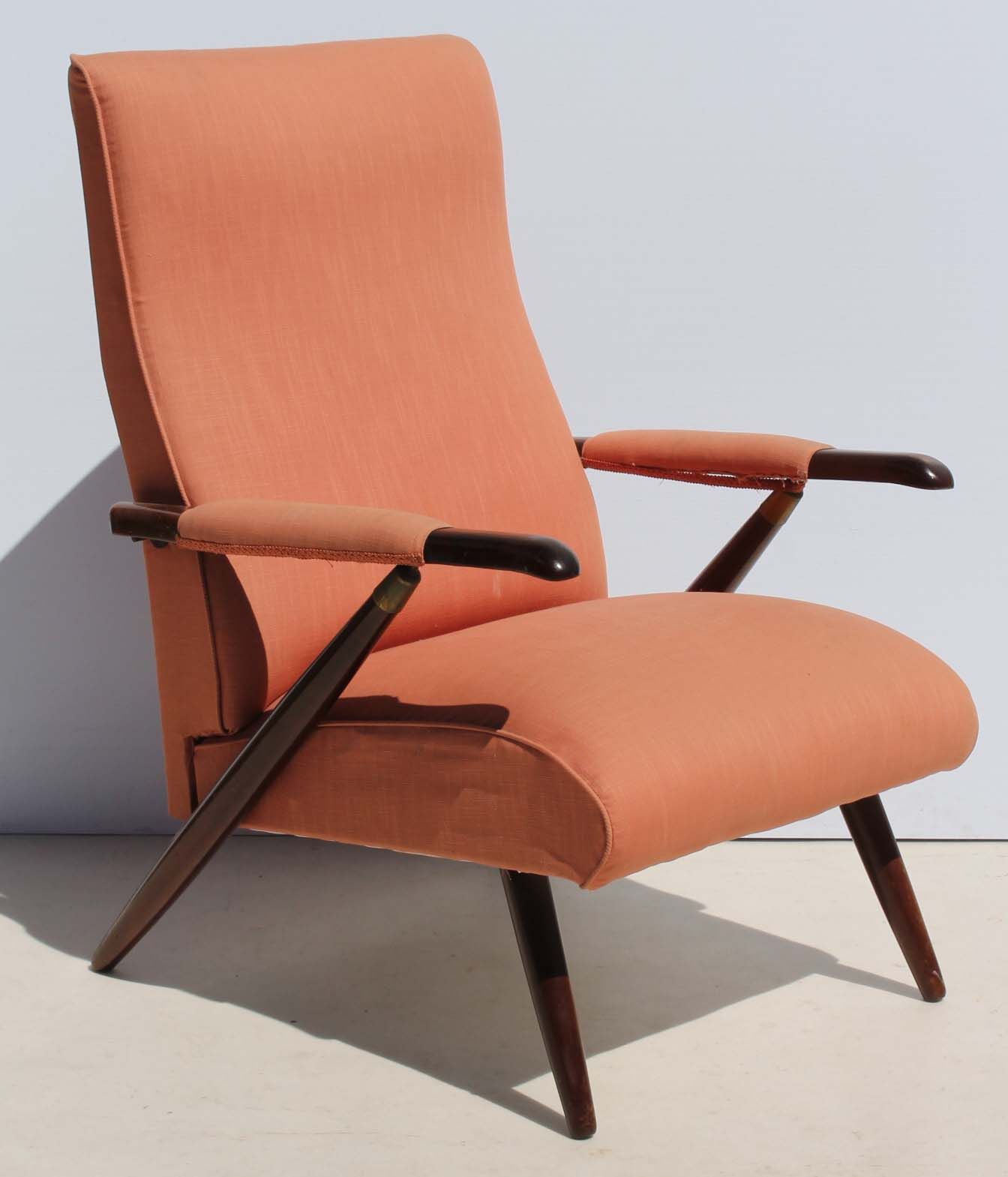 Danishmodern Living Room Furniture: Condition: Used Vintage Retro Recliner Lounge Chair Size