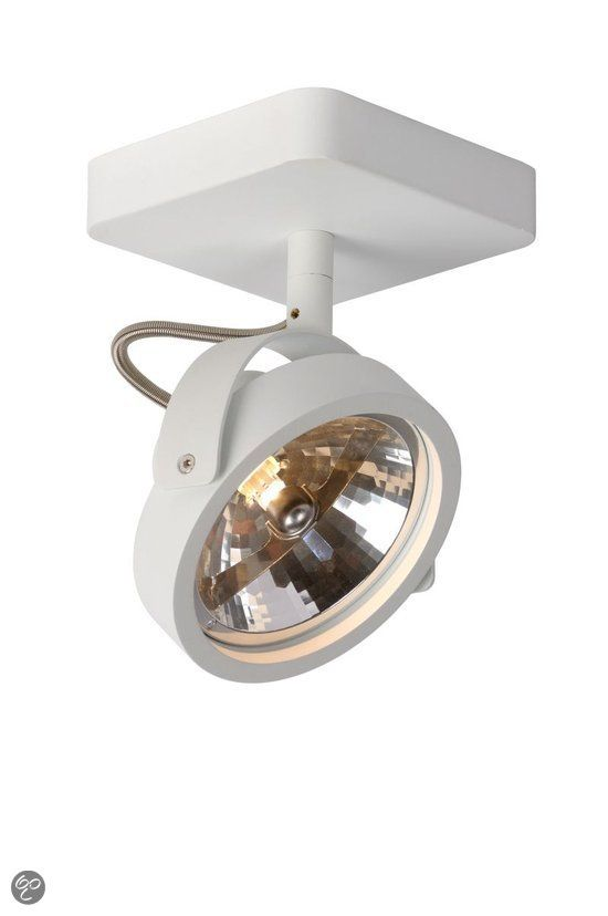 Zuiver Opbouw Plafond Spot Dice 1 Spot Wit Voor Bij Kastwand Kleedkamer Verlichting Badkamer Verlichting Plafondlamp
