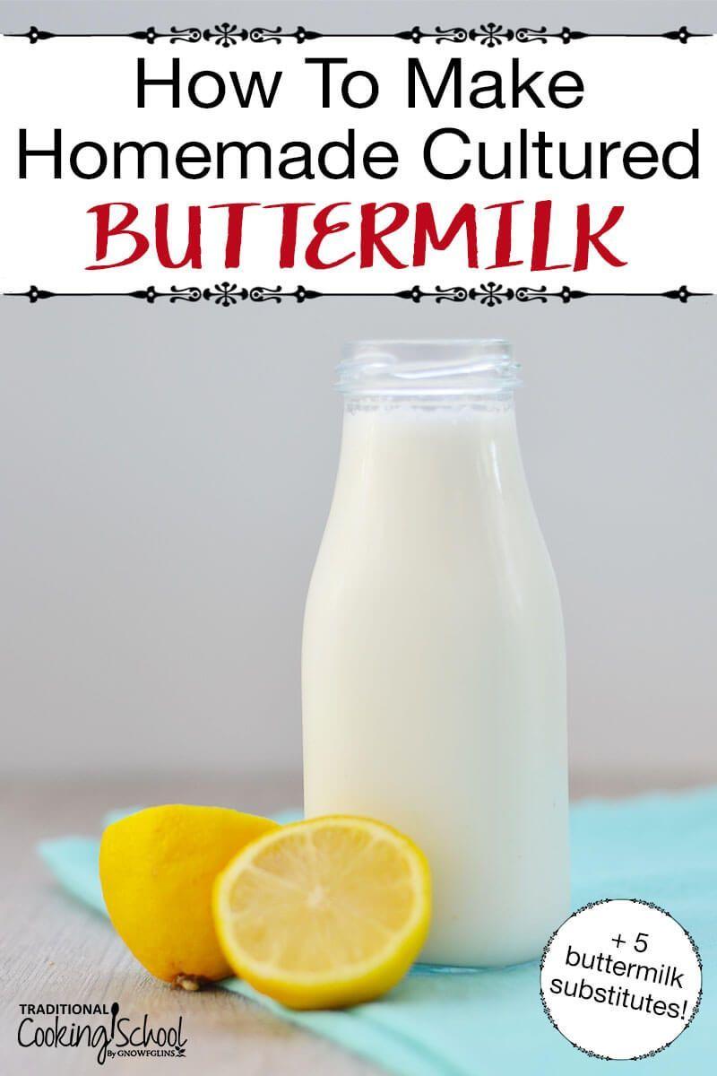 Site Search Discovery Powered By Ai Recipe In 2020 Buttermilk Substitute Cultured Buttermilk Coconut Milk Yogurt
