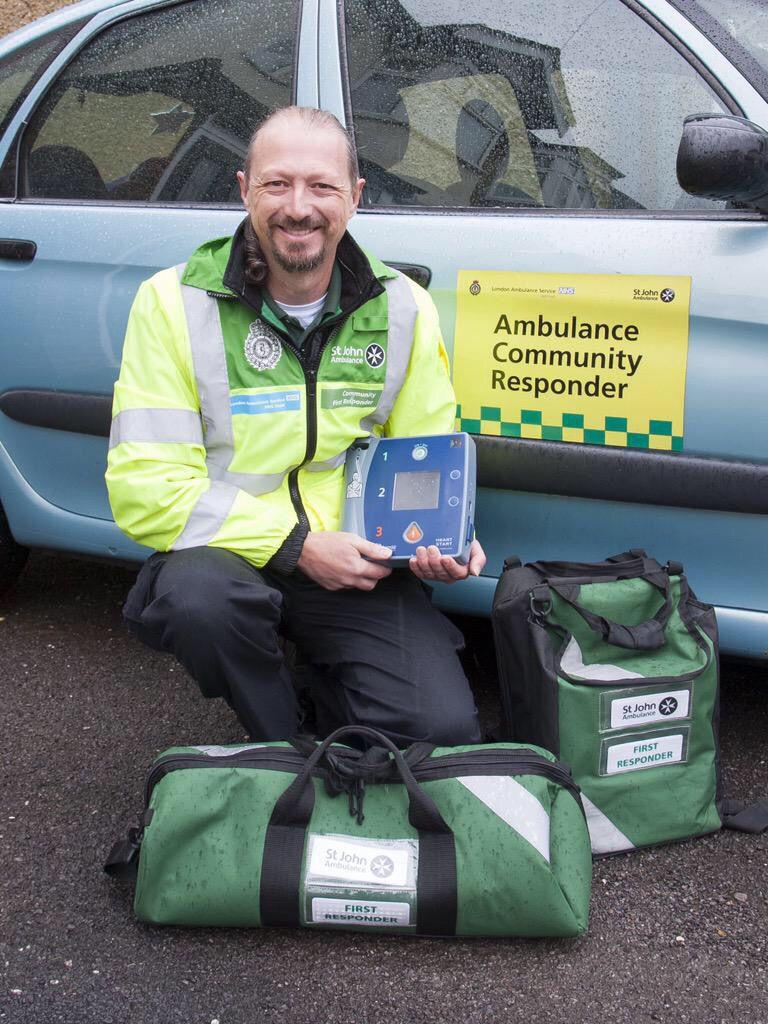 London Ambulance Service Volunteer Community Responder