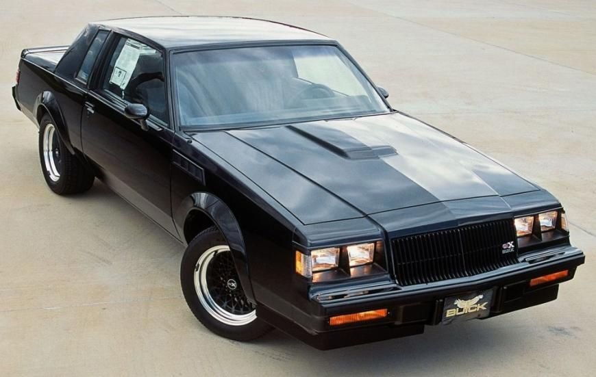 87 Buick Regal V 6 Turbo Gnx Buick Regal Buick Buick Grand National