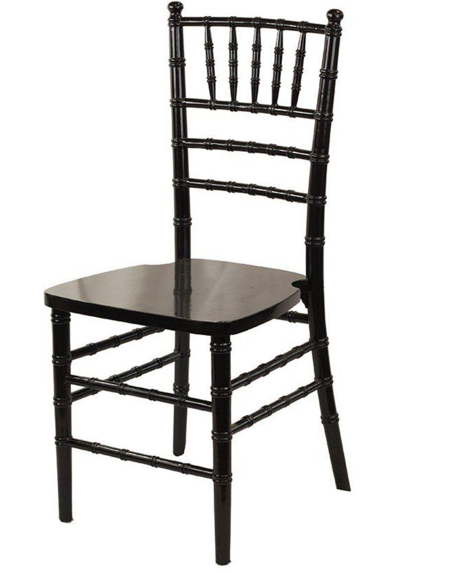 Black chiavari chairs by bellamiasboutique on etsy