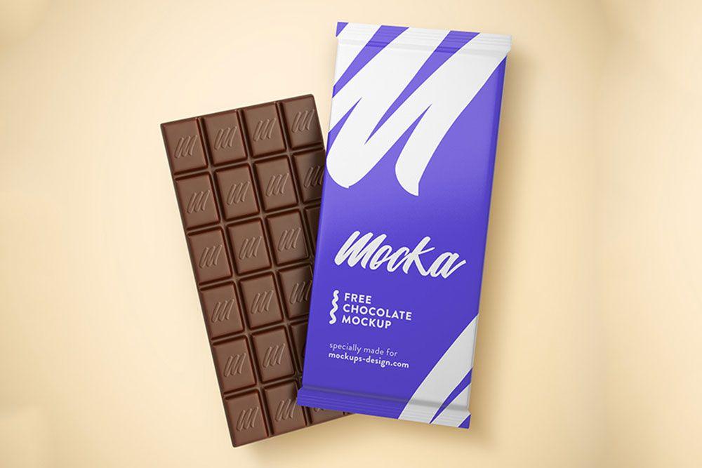 Download Free Chocolate Bar Mockup In Psd Free Chocolate Bar Mockup Psd Chocolate Bar Chocolate Packaging Mockup