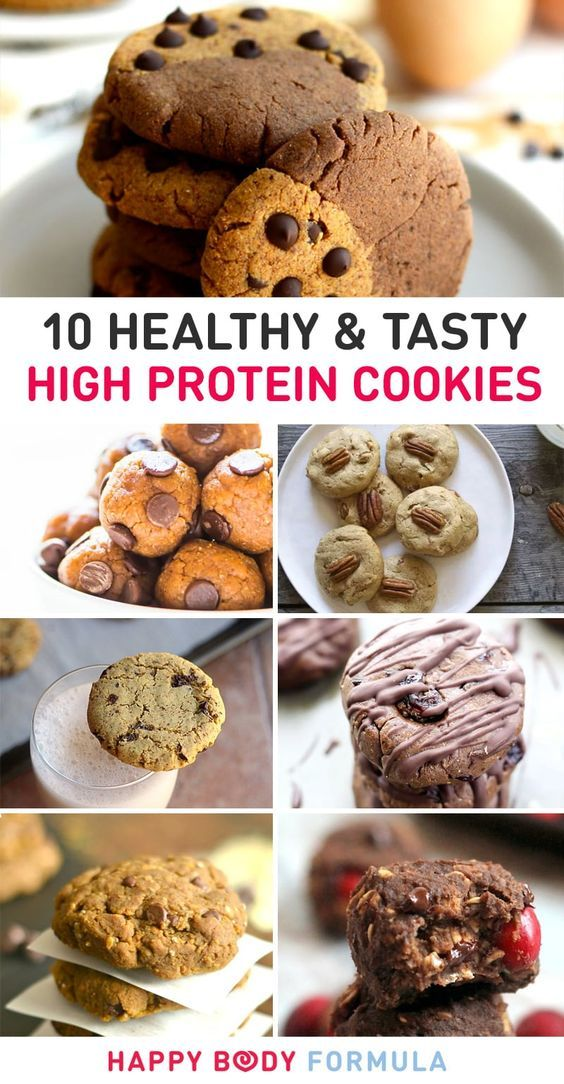 10 Healthy & Tasty High Protein Cookies   Favourite Paleo Recipes   Pinterest