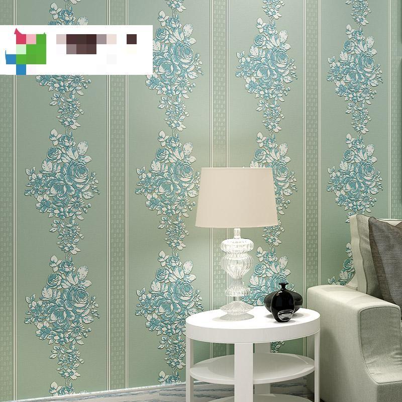 Modern European Style Wallpaper For Living Rooms Embossed 3d - moderne tapeten fürs wohnzimmer