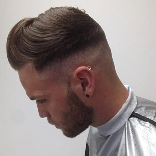 Current Mens Hairstyles 20 10 Of The Latest Hairstyles For Men 2014 Rather Than A Gradual Taper There Is