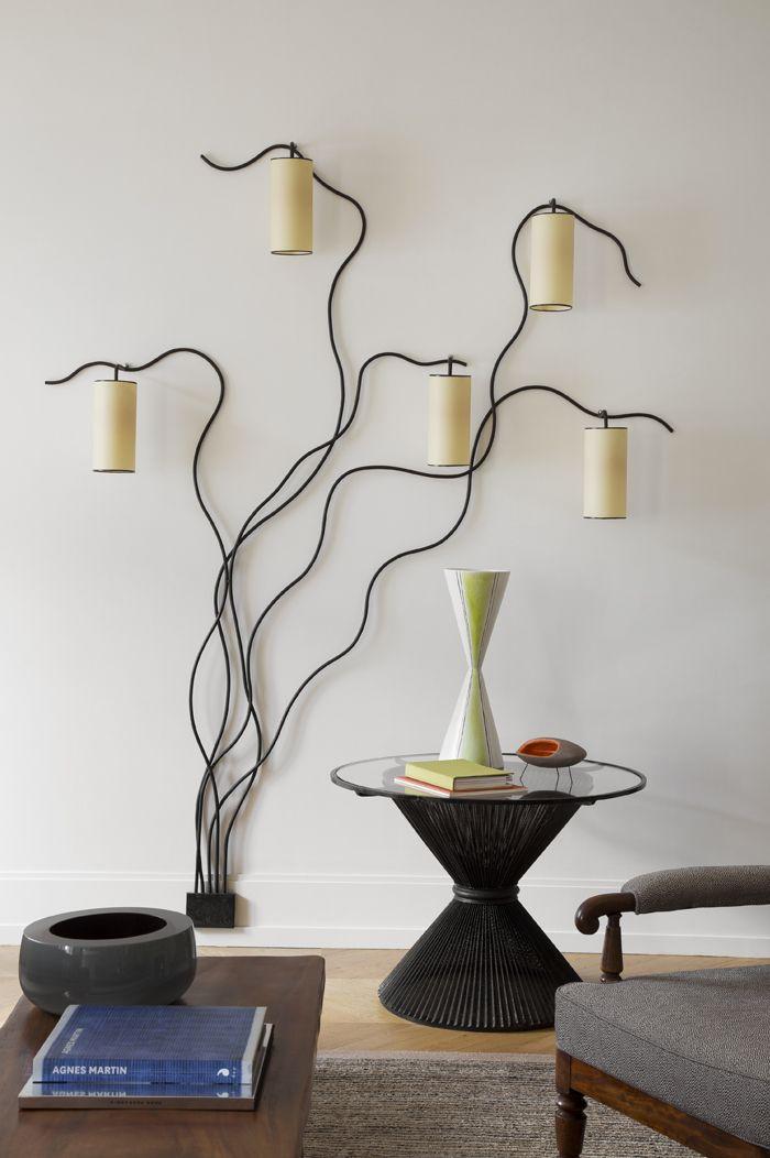 Un appartement parisien de collectionneurs Interiors, Lights and