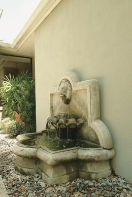 How To Build Your Own Outdoor Fountain Basins