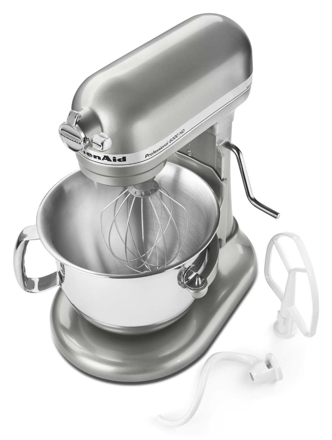 Heres the contour silver pro 6000 hd mixer by kitchenaid