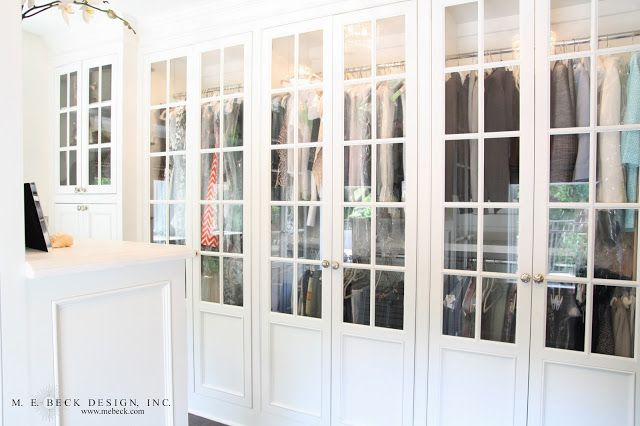 Live Beautifully 1920 S Renovation The Master Closet Glass Closet Doors French Closet Doors Glass Office Doors