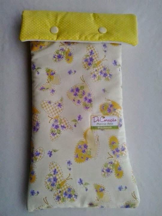 DeCoração Home Store - Bolsinha para fraldas e lenços umedecidos. Bag for diapers.