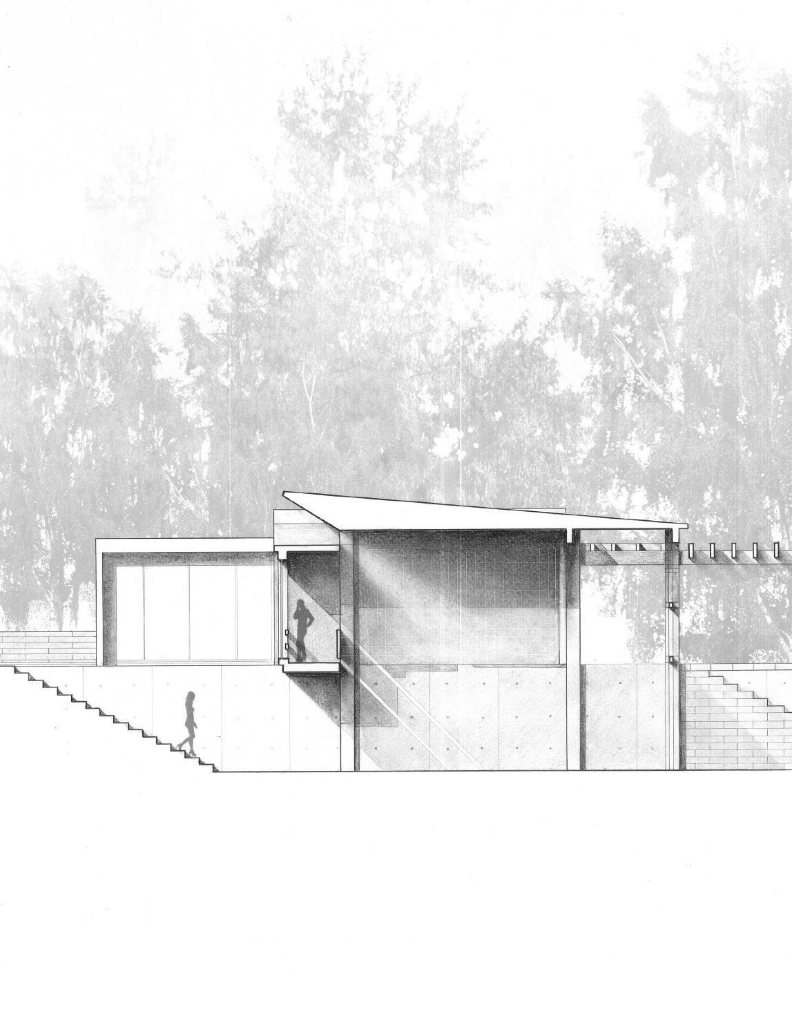 Architektur Ansicht pin łukasz rząd auf architecture visualisierung