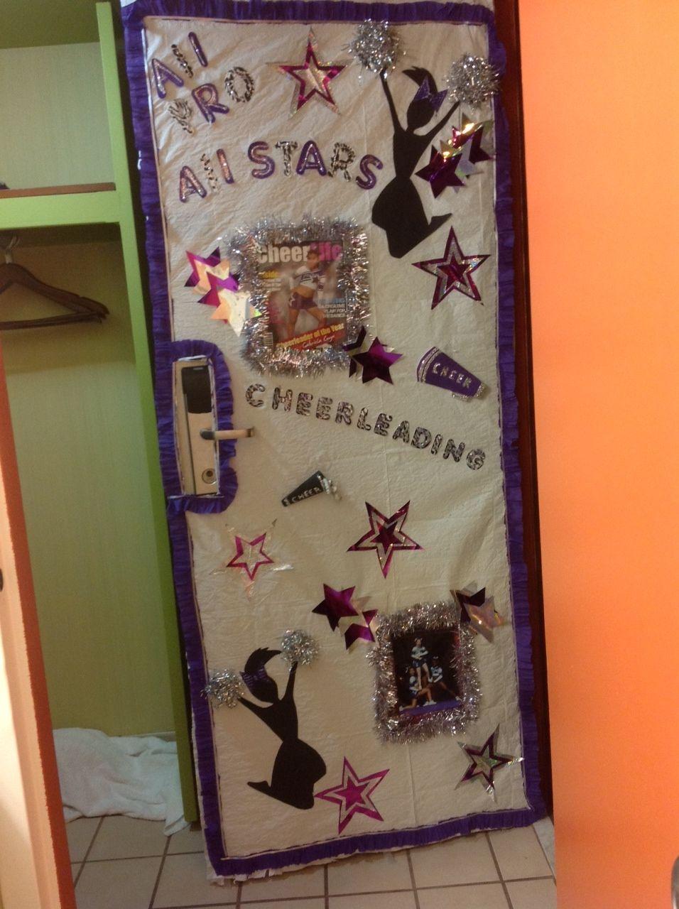 Image result for cheer camp door decorations dorm door for Hotel door decor