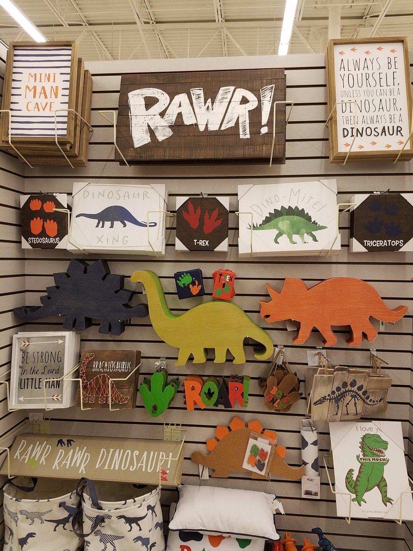 Hobby Lobby Dinos #dinosaurnursery