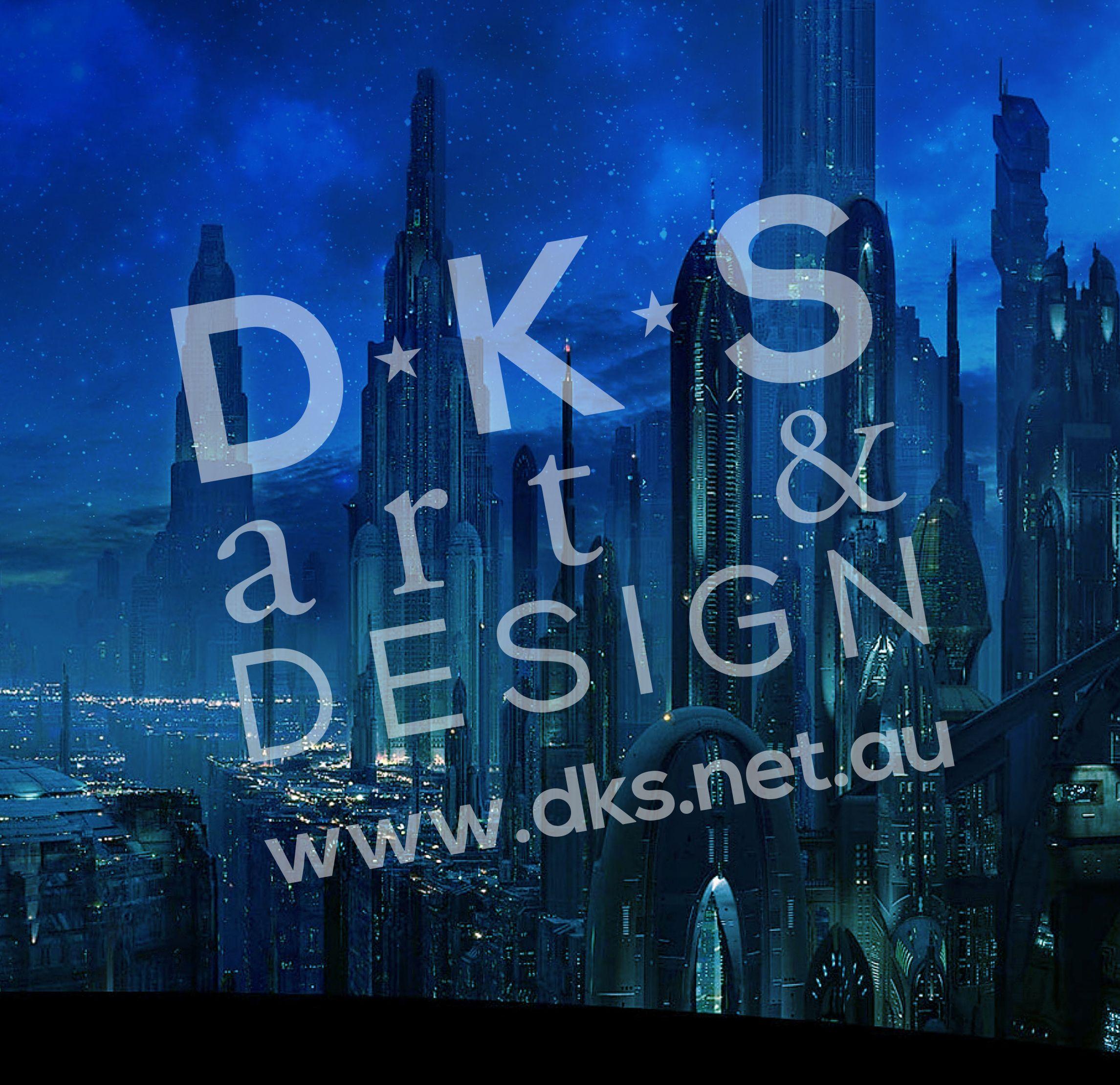 Star Wars Cabinet Star Wars Coruscant Display Background Design 2 Blue For Detolf