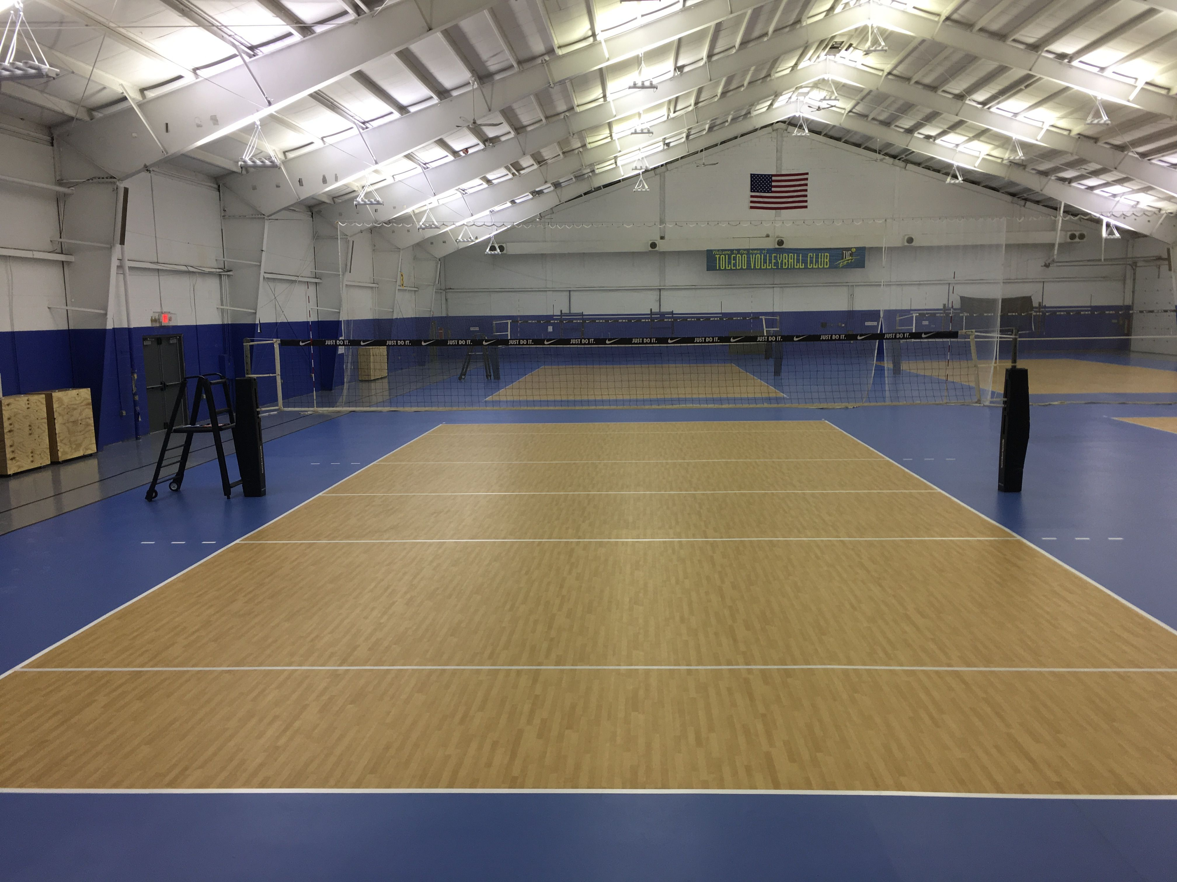 Toledo Volleyball Club In Ohio With Images Volleyball Volleyball Clubs Outdoor Volleyball Net