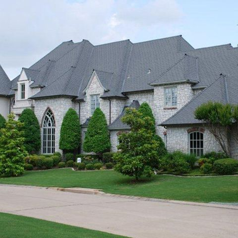 New Roof In Dallas House Styles Residential Roofing Mansions