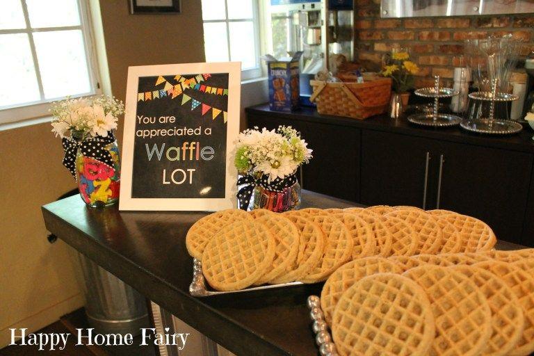 4 Days of Teacher Appreciation Breakfast Ideas #employeeappreciationideas