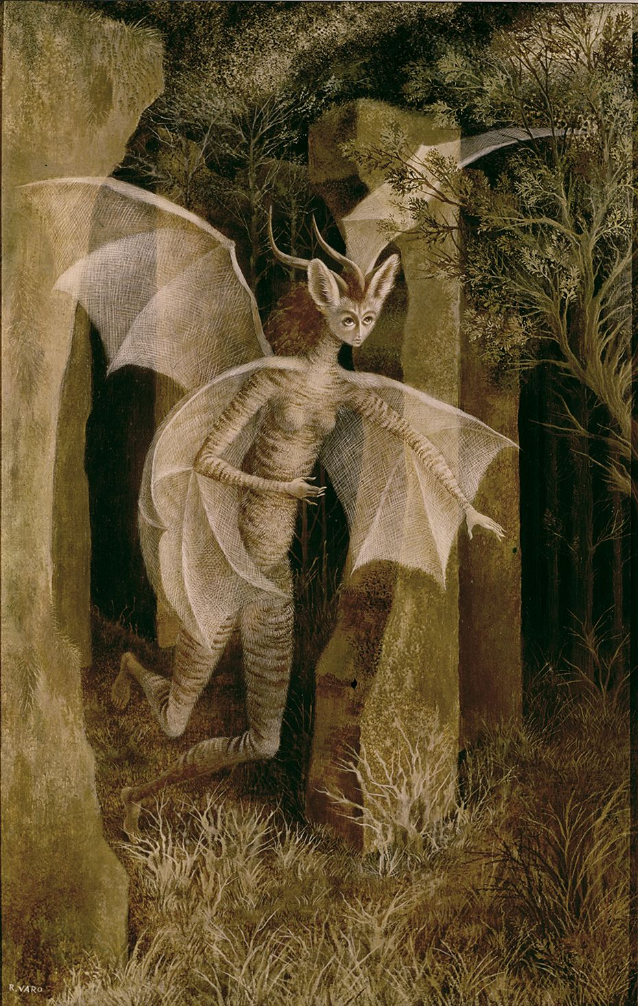Personaje, 1958. – Remedios Varo