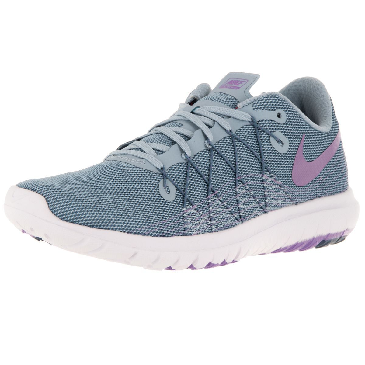 competitive price e18d5 d35a4 Nike Women's Flex Fury 2 Grey/Urban Llc/Ocn Fg/White Running ...