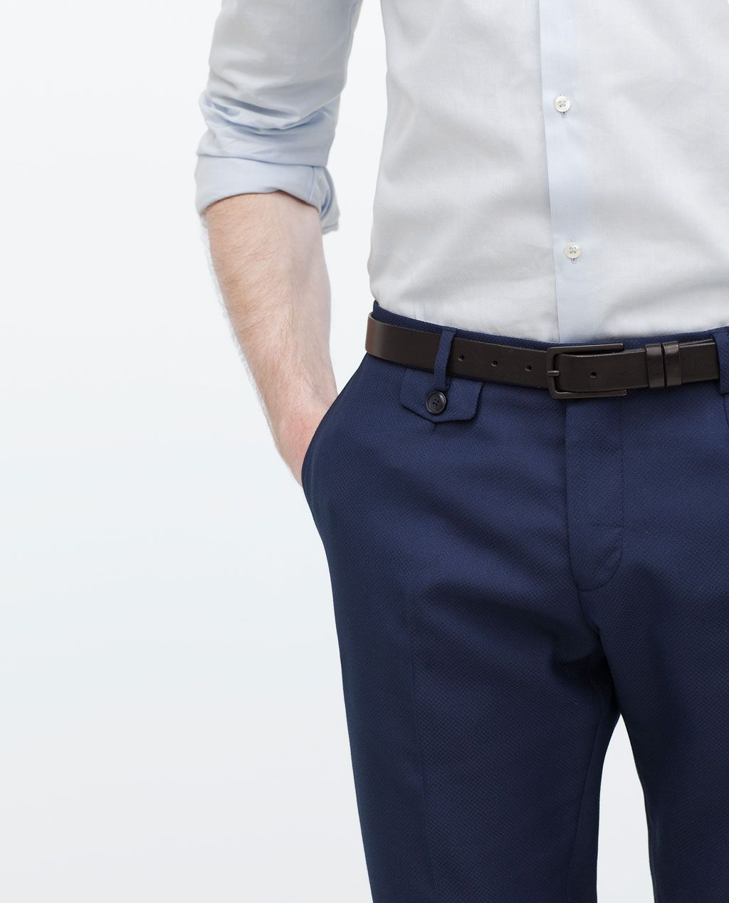 Image 6 of SUIT TROUSERS from Zara