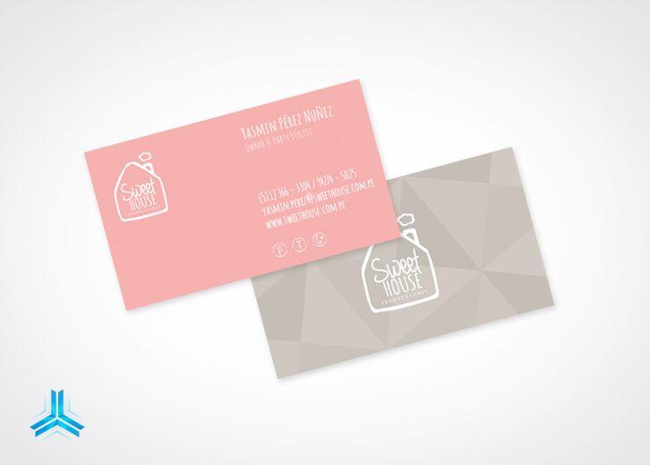 Tarjeta Personal - Sweet House