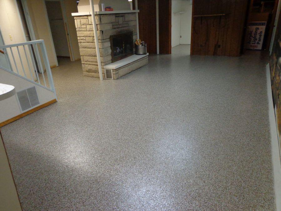 The Flooring Option That Make Your Home Look Beautiful Basement Flooring Options Concrete Floor Coatings Concrete Floors