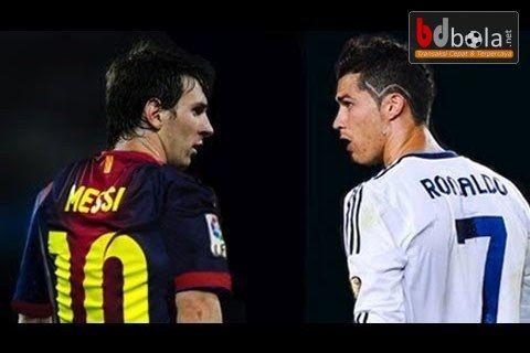 Ronaldo dan Messi Tonjok-Tonjokan Di Lapangan - http://www.fifabola.info/liga-spanyol/ronaldo-dan-messi-tonjok-tonjokan-di-lapangan/