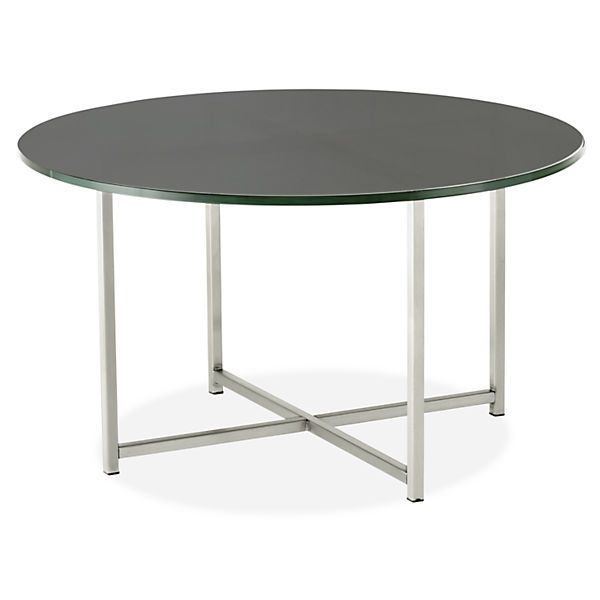 Classic Cocktail Tables in Stainless Steel