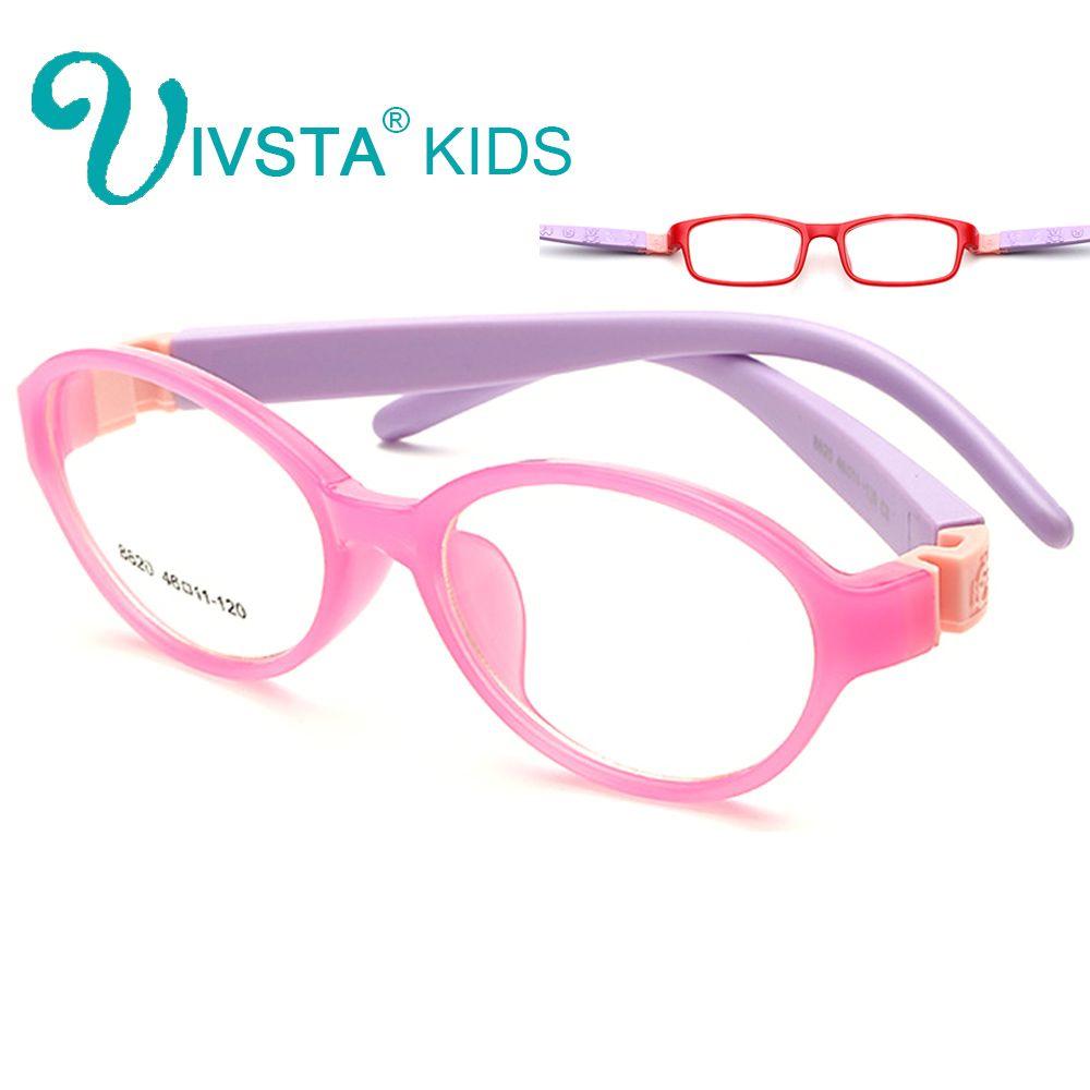 IVSTA Bendable Round Light Child Glasses frame kids frames eyewear ...