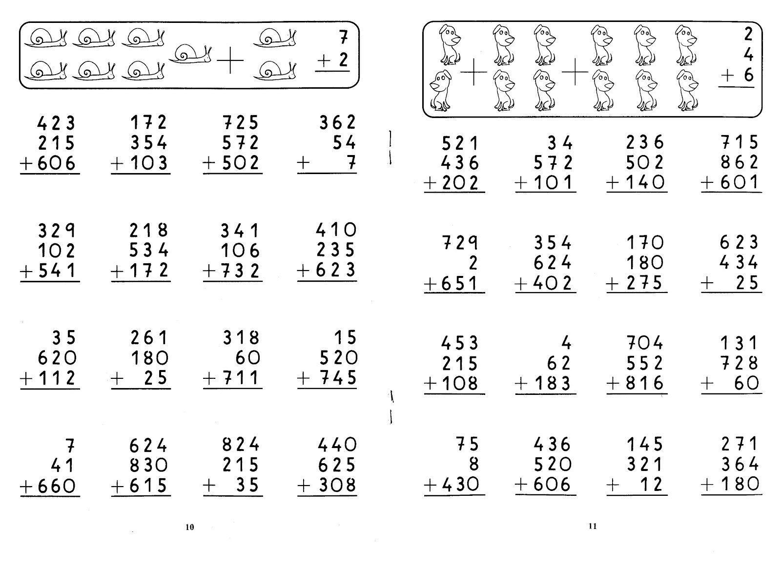 26 Fichas Matematicas De 1o Ao 3o Ano