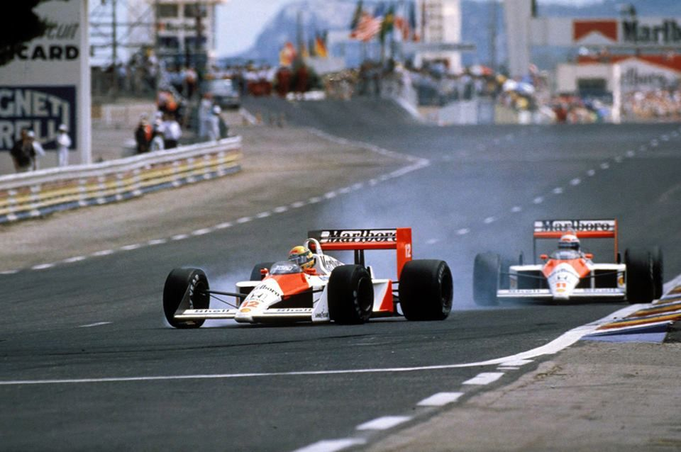 1988 France Mclaren Ayrton Senna VS Alain Prost