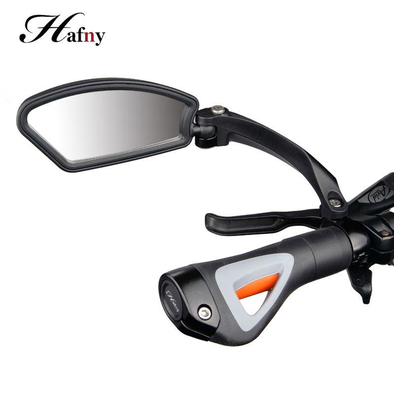 Hafny Cycling Bike Bicycle Handlebar Flexible Safe Rearview Rear View Mirror