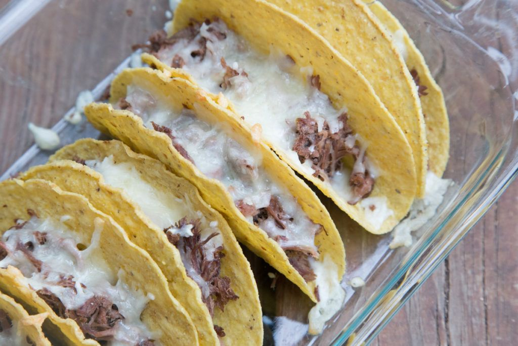 Shredded Beef Oven Tacos Recipe - $5 Dinners | Recipes & Meal Plans