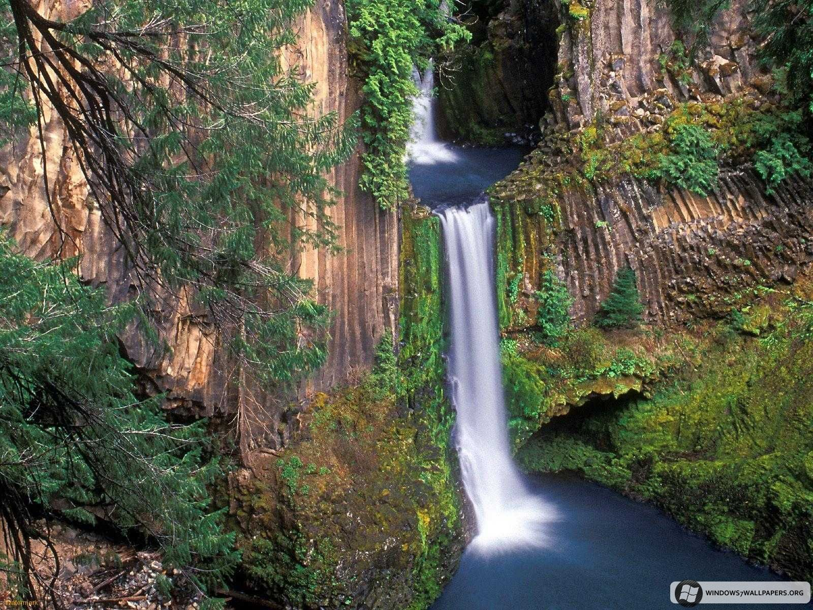Oregon scenery falls oregon wallpapers toketee - Oregon nature wallpaper ...