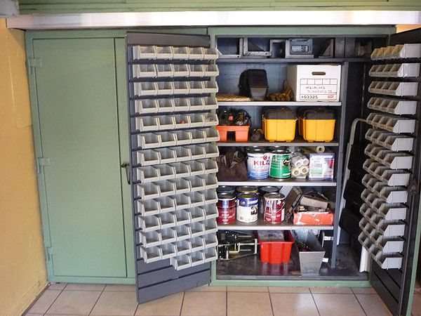 1000 Images About Garage On Pinterest Industrial Shelving Garage Organization Tips And Tool Bench