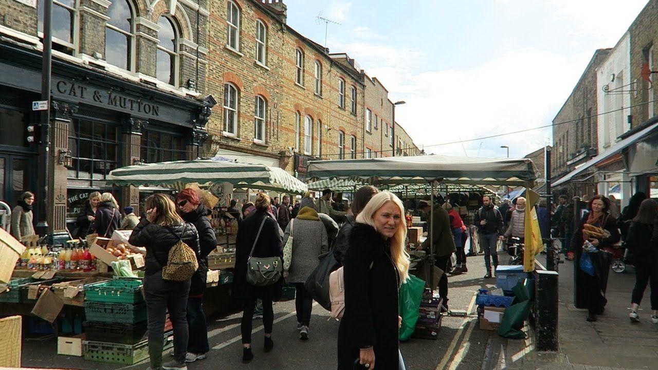 Cat and Mutton Pub Hackney Broadway Market London