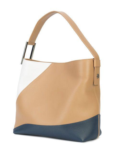 top handle tote bag - Brown Perrin Paris uX76H