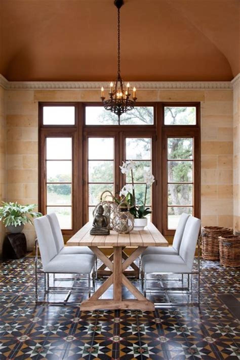 33 Most Popular Mediterranean Dining Room Decorating Ideas ...
