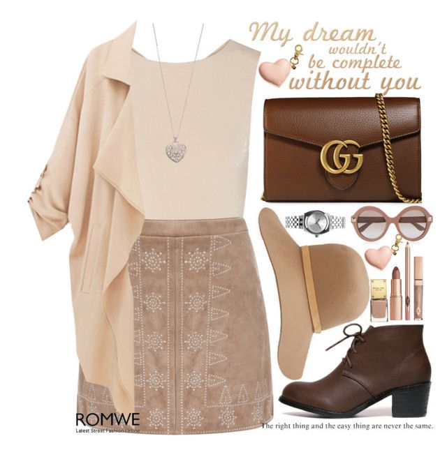 """My dream"" by m-zineta ❤ liked on Polyvore featuring Alice + Olivia, Gucci, H&M, rag & bone, Nixon, Valentino and Accessorize"