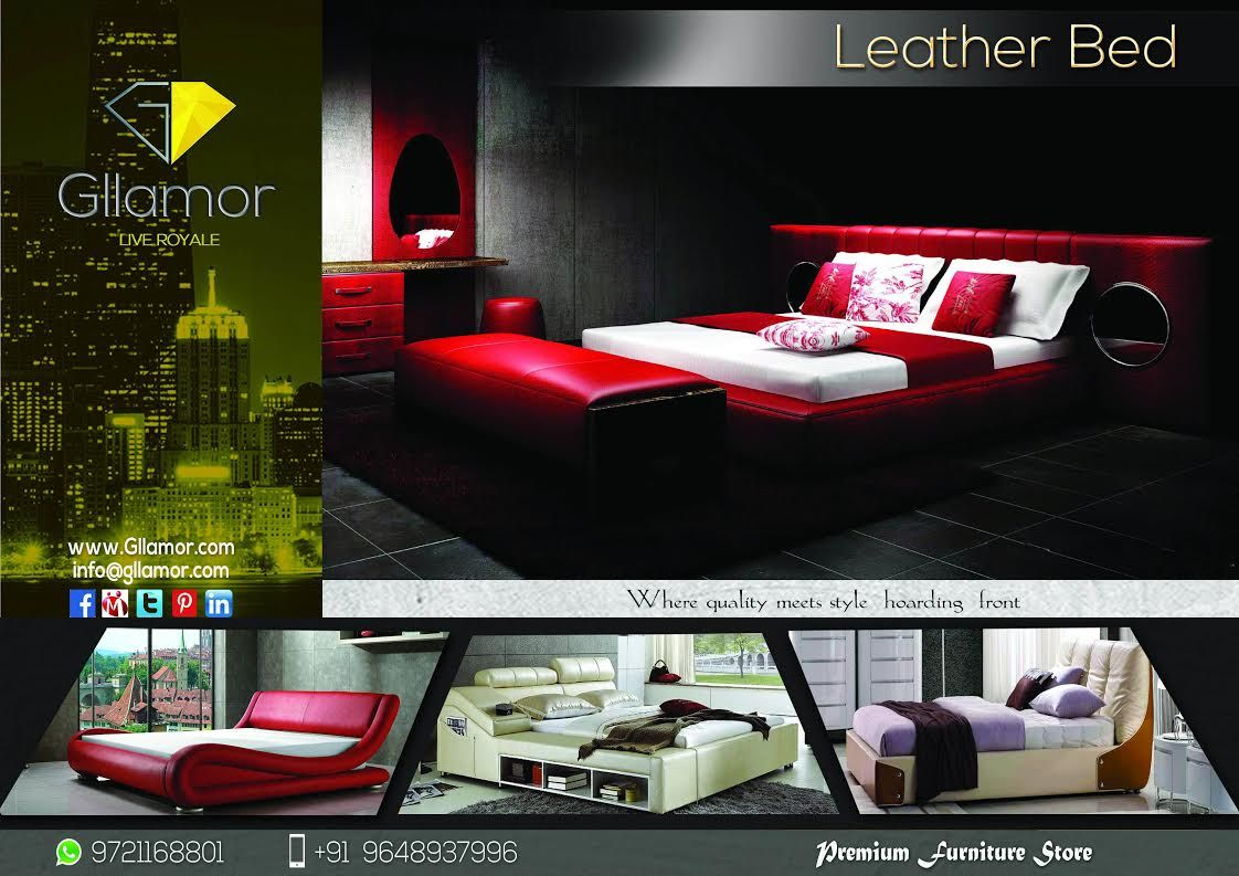 Wondrous and Glorious Leather Beds The bedroom is the one part of