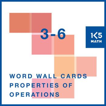 Free Download 8 Properties Of Operations Cards For Your Math Word