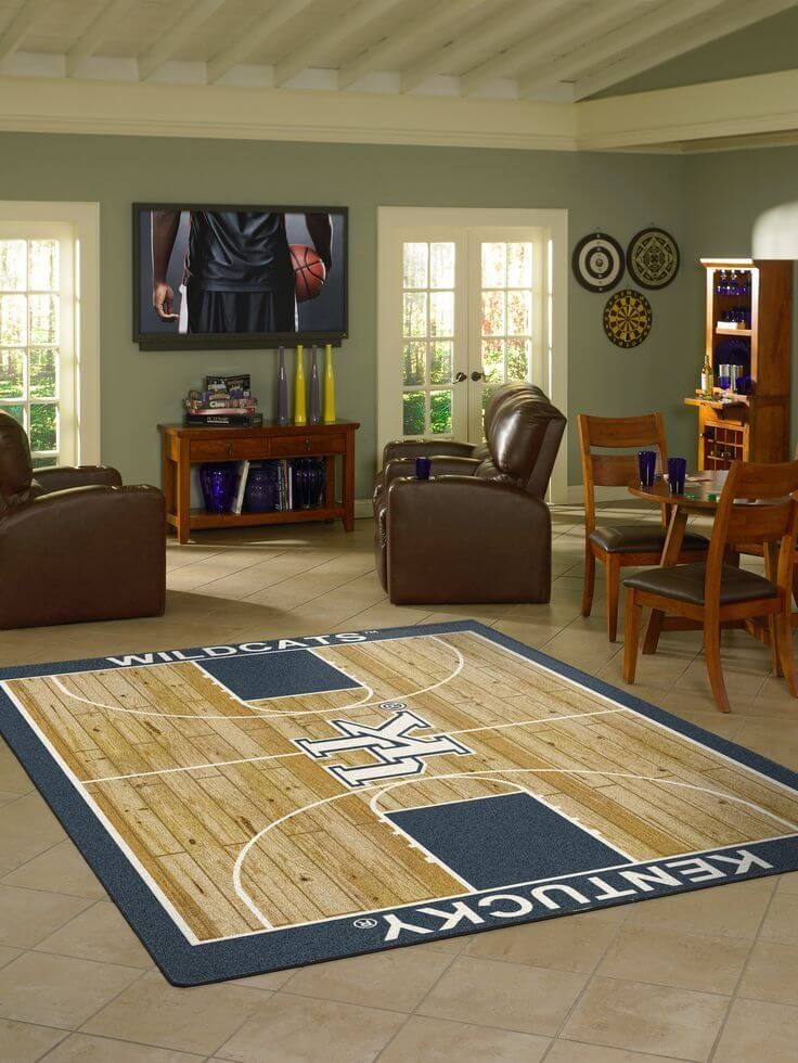 Kentucky Wildcats Custom Rug