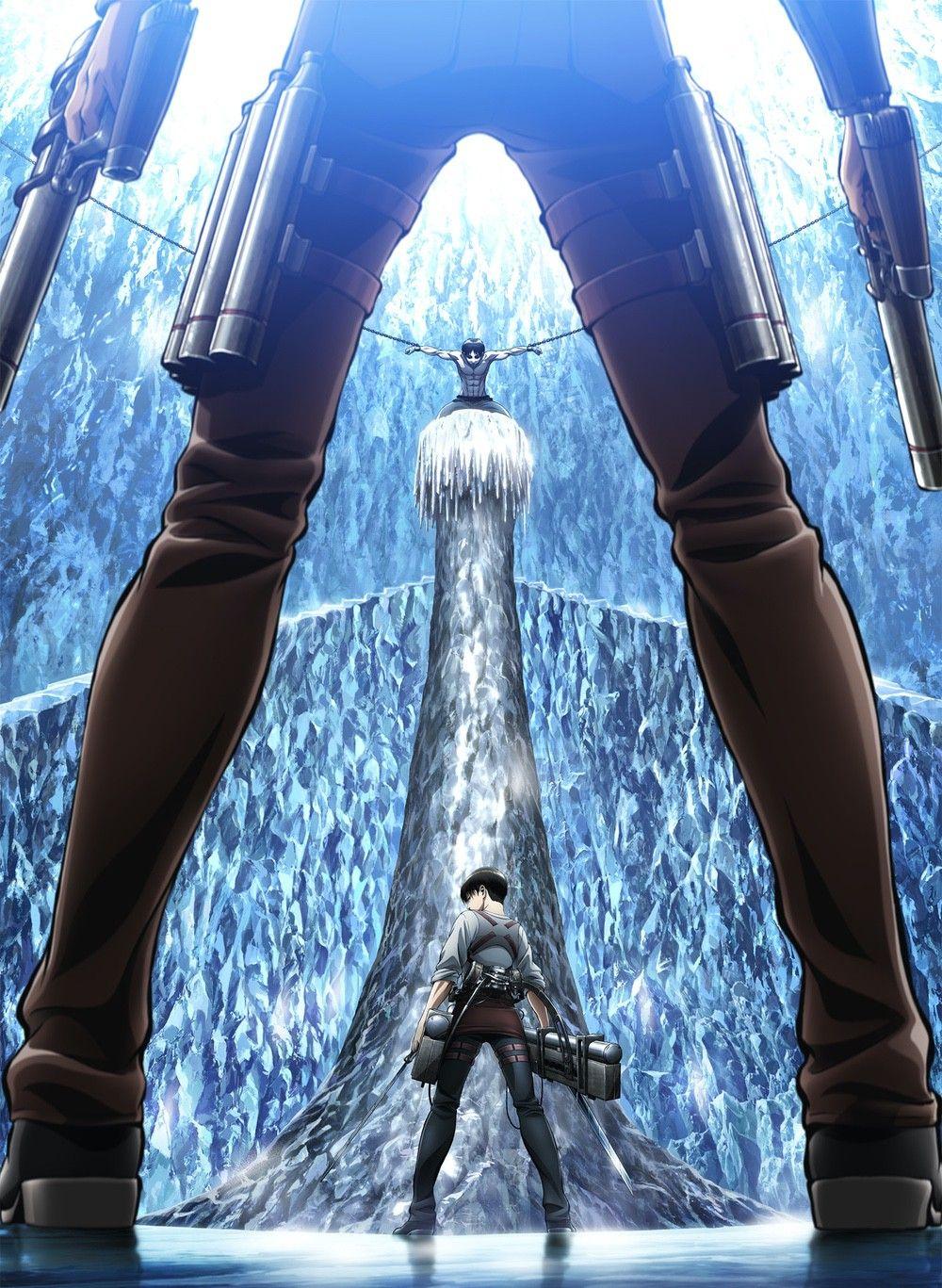 Attack On Titan Season 3 Official Visual 1 進撃の巨人、巨人、進撃の