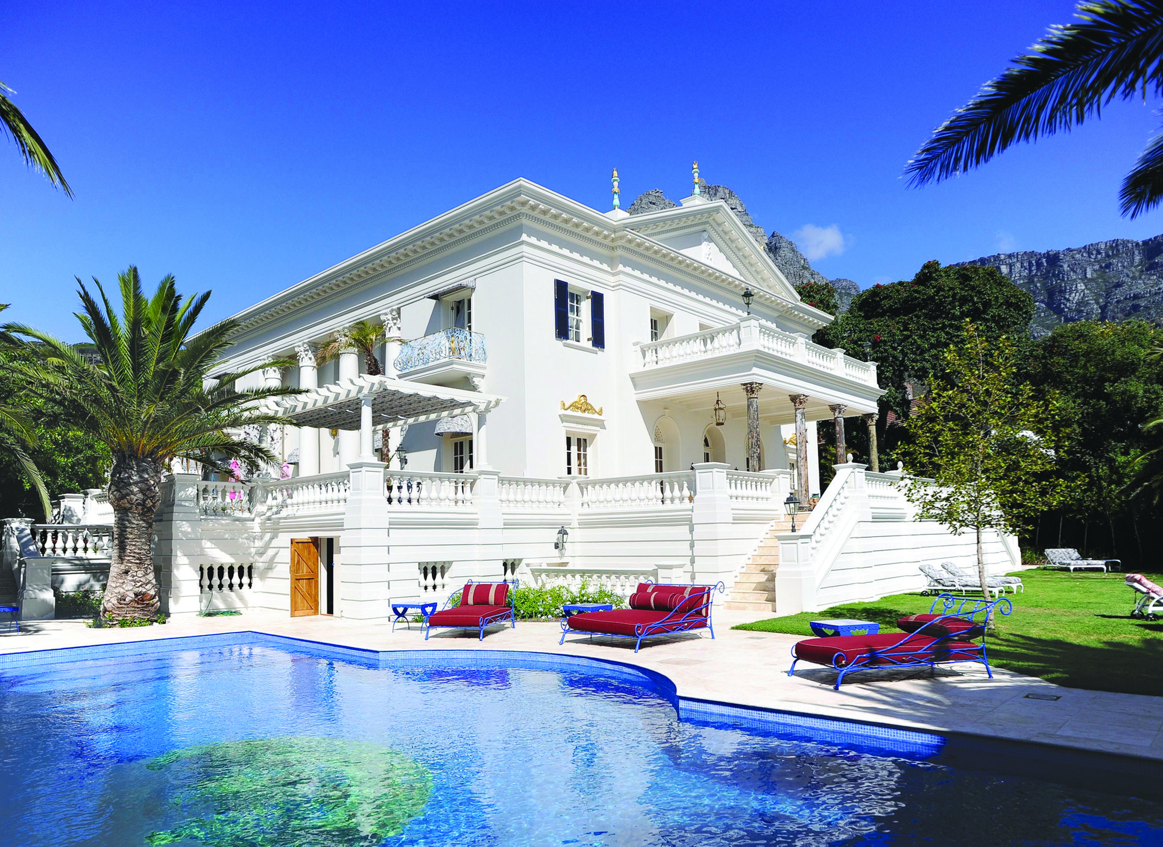 The Enigma Mansion in Cape Town, Africa is one of the most