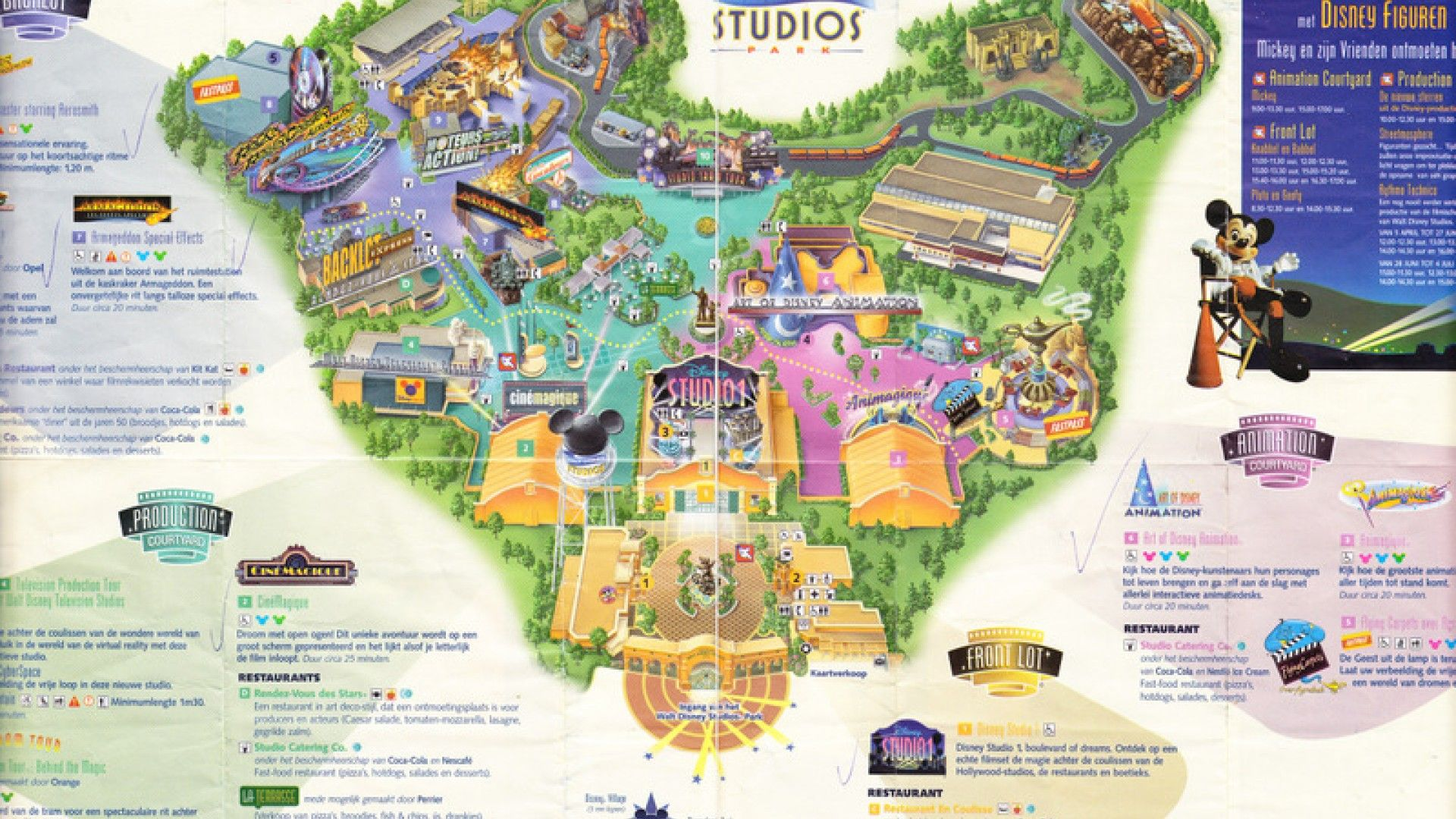 walt disney studios park is the second of two theme parks built at disneyland paris in marne la. Black Bedroom Furniture Sets. Home Design Ideas